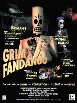 Official Grim Fandango poster