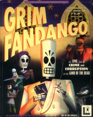 Grim Fandango box art (GiantBomb)