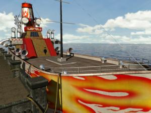 Manny's ship, the SS Lola