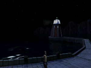 Lola's last stop, the Lighthouse